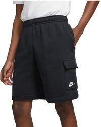 Nike Nsw Club Cargo Shorts - Black