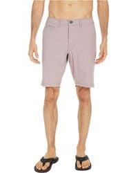 Linksoul Ls678 - Recycled Boardwalker Shorts - Red