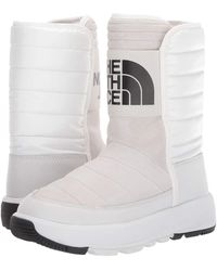 The North Face Ozone Park Winter Pull-on Boot - White