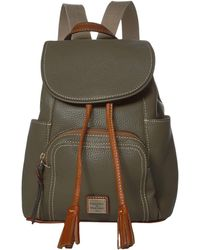 Dooney & Bourke Pebble Medium Murphy Backpack - Brown