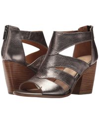 01be31407c49 Isola - Rona (black Toscana) Women s Toe Open Shoes - Lyst