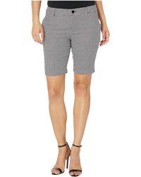 Lauren by Ralph Lauren Petite Stretch-cotton Twill Shorts - Gray