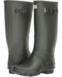 HUNTER Huntress Field Boot - Green