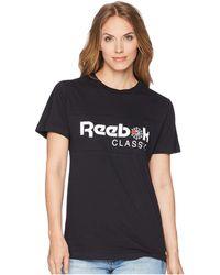 Reebok - Graphic Tee (classic White) Women's T Shirt - Lyst