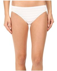 135ade3e002c9 Jockey - Comfies(r) Matte Shine Bikini (black) Women s Underwear - Lyst