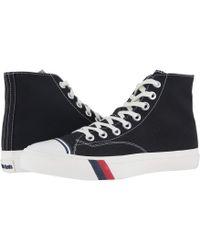 Keds - Pro- Royal Hi Classic Canvas (white) Men's Shoes - Lyst