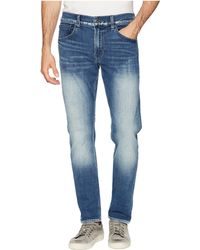 Hudson Jeans - Blake Slim Straight Zip In Navarro (navarro) Men's Jeans - Lyst