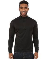 Hot Chillys - Peach Zip-t (black) Men's T Shirt - Lyst