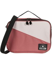 Volcom Brown Bag Lunch Box - Red