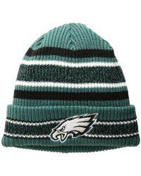9885bde387c KTZ - Philadelphia Eagles Vintage Stripe (dark Green) Baseball Caps - Lyst