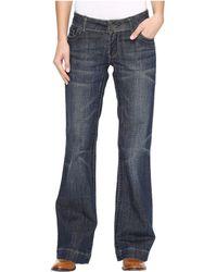 Stetson Denim Trouser S On Back Pocket - Blue
