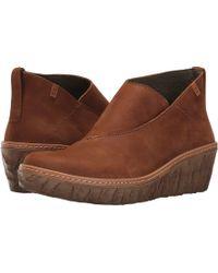 El Naturalista Myth Yggdrasil N5131 (black) Women's Shoes - Brown