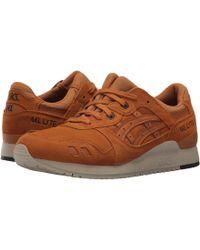 Asics - Gel-lyte Iii (honey Ginger/honey Ginger) Men's Shoes - Lyst