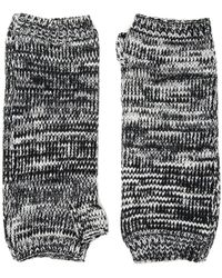 San Diego Hat Company Kng3541 Fingerless Marl Longer Gloves (black) Dress Gloves