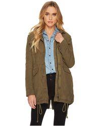 Lucky Brand - Military Jacket (dark Sage) Women's Coat - Lyst