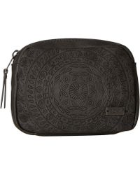 Roxy Mexican Sun Faux Leather Fanny Pack - Black