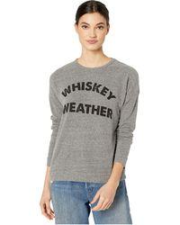 The Original Retro Brand Whiskey Weather Super Soft Haaci Pullover - Gray