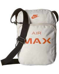 8b746ed642e9 Nike - Air Max Small Items Bag (light Bone black campfire Orange)