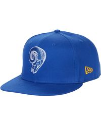 KTZ Nfl Basic Snap 9fifty Snapback Cap - Los Angeles Rams - Blue