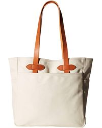 Filson Tote Bag Without Zipper - Natural