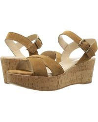 ad3d09b942f Cordani - Candy (cola Suede) Women s Wedge Shoes - Lyst