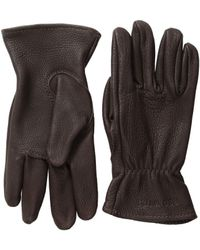 Red Wing Unlined Gloves (brown Buckskin) Cycling Gloves - Multicolor