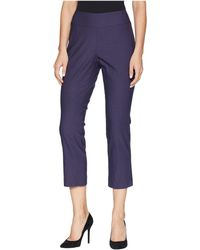 NIC+ZOE - Cropped Wonderstetch Pants (blueprint) Women's Casual Pants - Lyst