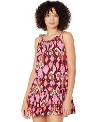 Maaji Totem Magnolia Short Dress Cover-up Swimwear - Pink