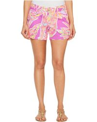Lilly Pulitzer - Callahan Shorts (amethyst Sunseekers) Women's Shorts - Lyst