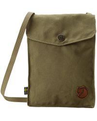 Fjallraven - Pocket (green) Backpack Bags - Lyst