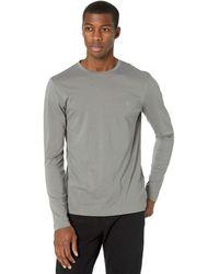 AllSaints Tonic Long Sleeve Crew Clothing - Gray