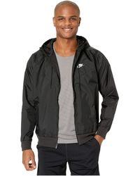Nike Windrunner Hooded Jacket - Black