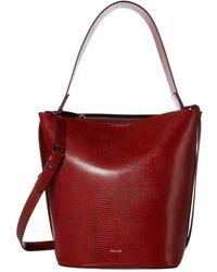 Reiss Hudson Bucket Bag - Red