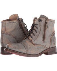 Bed Stu - Bonnie S (taupe Lux) Women's Zip Boots - Lyst