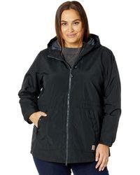 Carhartt Plus Size Oc221 Rd Lightweight Coat - Black