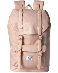 804329b8b8f Herschel Supply Co. - Little America Mid-volume (polka Cameo Rose rubber
