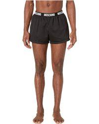 Moschino - Mesh Swim Shorts - Lyst