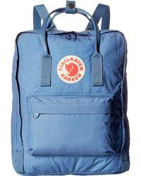 Fjallraven - Kanken (deep Blue) Backpack Bags - Lyst