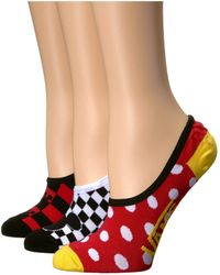 f1e1e4f01c Vans - Mickey s 90th Canoodles 3-pack (multi) Women s Crew Cut Socks Shoes