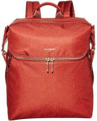 Hedgren Paragon Medium Backpack - Red