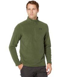Mountain Hardwear Microchill 2.0 Zip T - Green