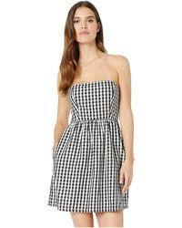 3fac7e6adfe Vans - Gingham Dress (black Gingham) Women s Clothing - Lyst