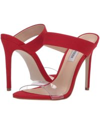 766396693c3a Steve Madden - Amaya Heeled Sandal (metallic) High Heels - Lyst