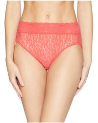 Wacoal - Halo Lace Hi-cut Brief (naturally Nude) Women's Underwear - Lyst