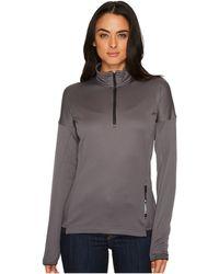 Adidas Originals   Terrex Tivid 1/2 Zip Fleece Top   Lyst