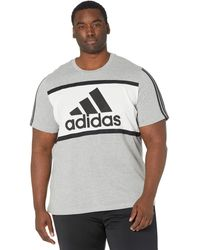 adidas - Color-block Tee Clothing - Lyst