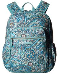 Vera Bradley Iconic Campus Backpack - Red