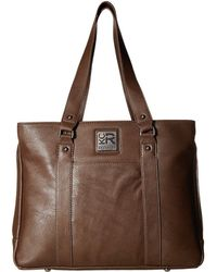 Kenneth Cole Reaction - Casual Fling - 15.0 Computer Tote (kelly Green) Tote Handbags - Lyst