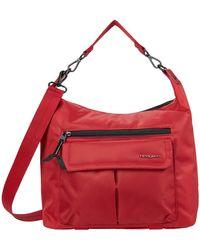 Hedgren Luna Convertible Eco-friendly Hobo/shoulder - Red