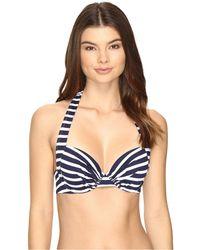 Tommy Bahama - Breton Stripe Underwire Halter Bikini Top - Lyst